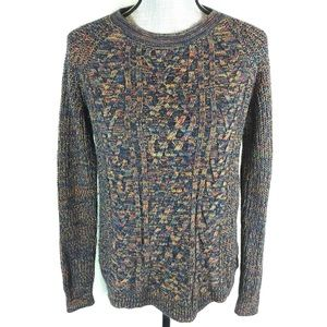 Faded Glory Pullover Sweater Long Sleeve Colorful